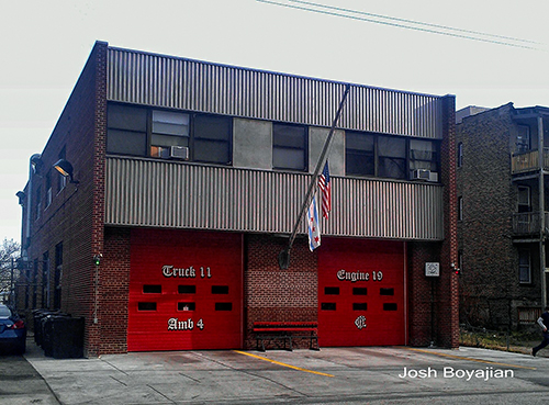 Chicago Fire Station Engine 19 and Truck 11