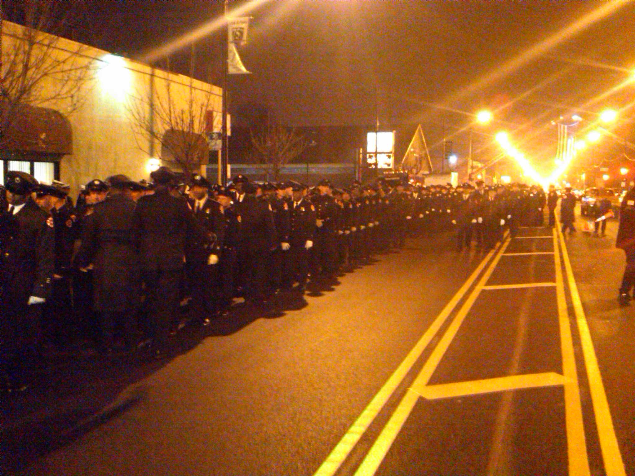 visitation for Chicago Firefighter Walter Patmon, Jr
