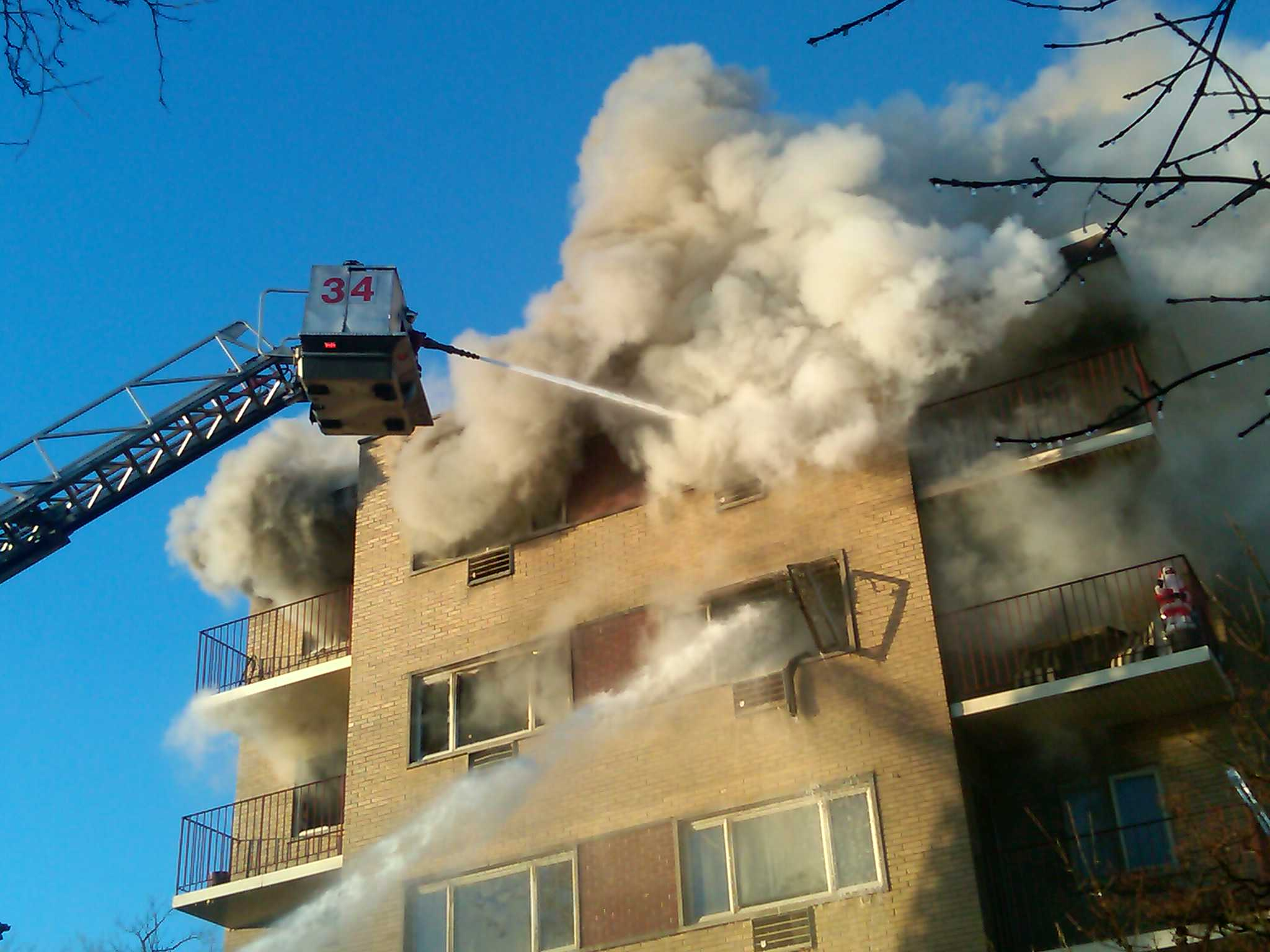 Chicago 2-11 Alarm fire 11-24-12