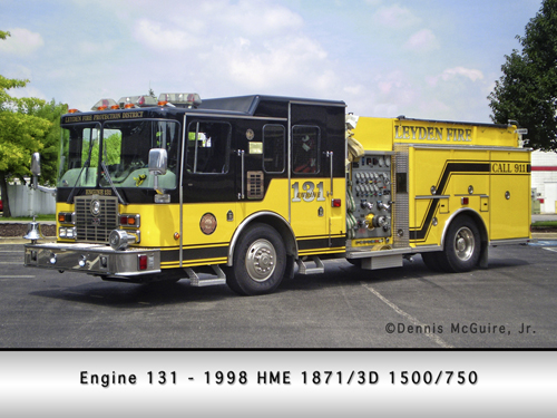 Leyden Fire Protection District Engine 131