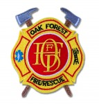 Oak Forest Fire Department patch