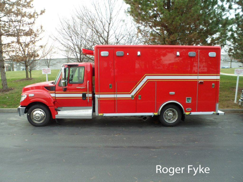 Palatine Rural FPD new Horton Ambulance