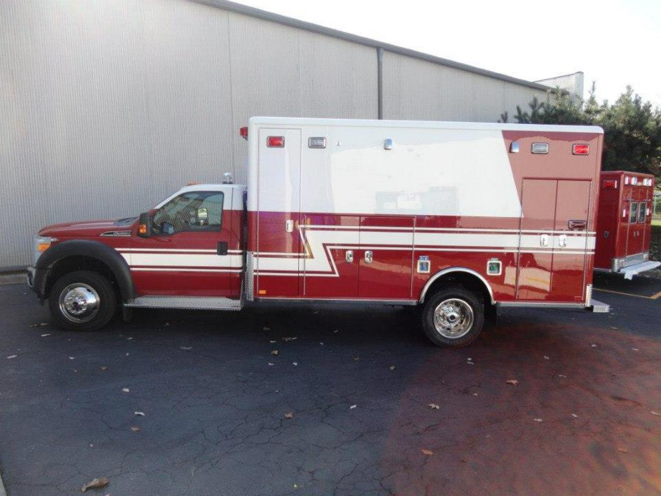 new Horton ambulance for Greater Round Lake FPD