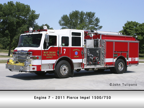 West Chicago Fire Protection District Engine 7