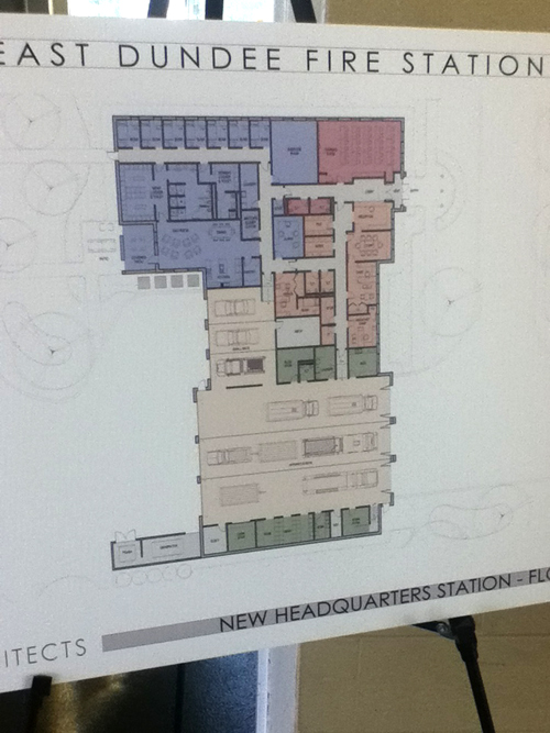 new fire station project for the East Dundee Fire Protection District