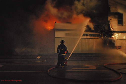 restaurant fire in McHenry, IL.