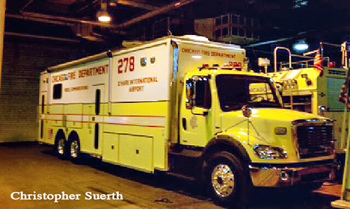 New Command Van 2-7-8- for O'Hare Airport.