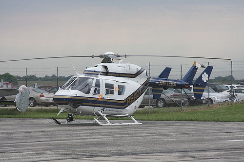 Rockford Memorial Hospital React Helicopter