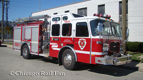 Pleasantview Fire District Engine 1551
