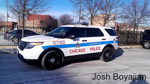 New Chicago Police Department patrol SUV