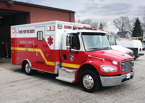Medtec ambulance in Crown Point Indiana