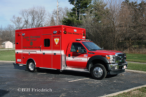 new ambulance for the Darien-Woodridge FPD Medic 90