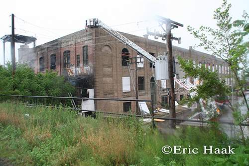 2-11 Alarm warehouse fire at 2444 S. 21st Street 5-26-07