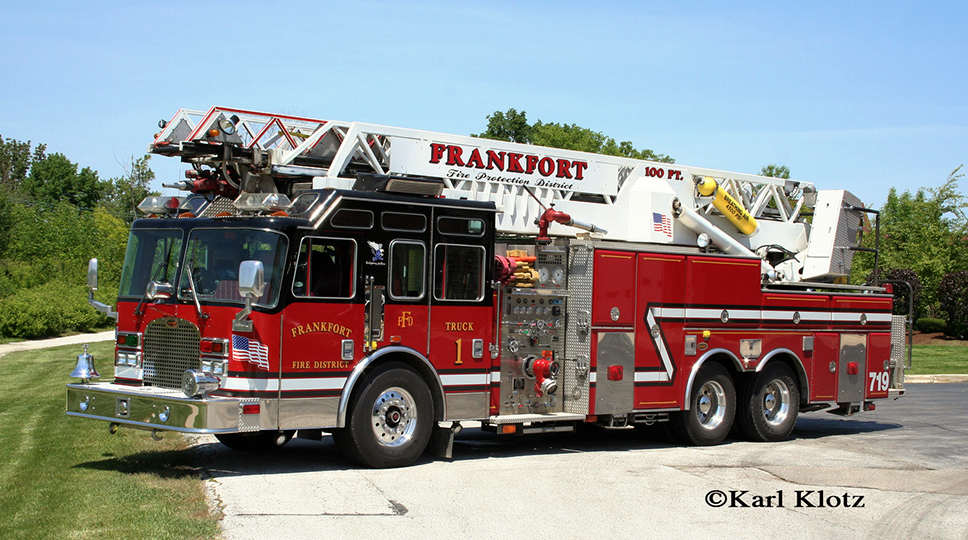 Frankfort FPD Ladder 2 KME quint