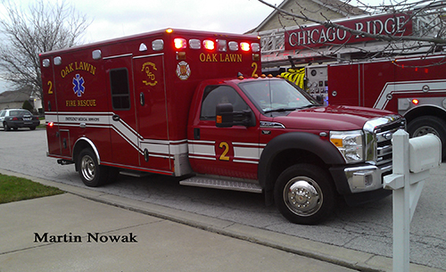 Oak Lawn Fire Department Ambulance 2