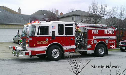 Bridgeview Fire Department Engine 425