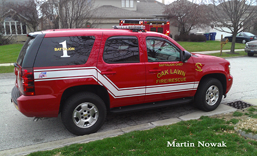 Oak Lawn Fire Department Battalion 1