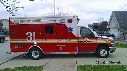 Roberts Park FPD Ambulance 31