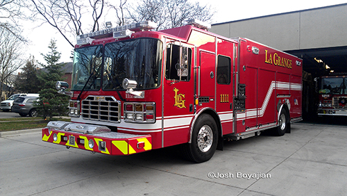 LaGrange Fire Department new Ferrara Engine