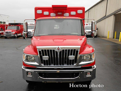 Palatine Rural FPD new Horton Ambulance