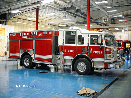new Pierce Arrow XT PUC rescue pumper for Posen IL