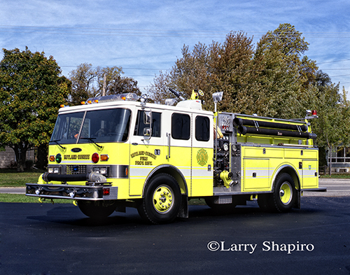 Rutland Dundee FPD Pierce ash engine
