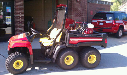 New all-terrain brush unit for Tinley Park