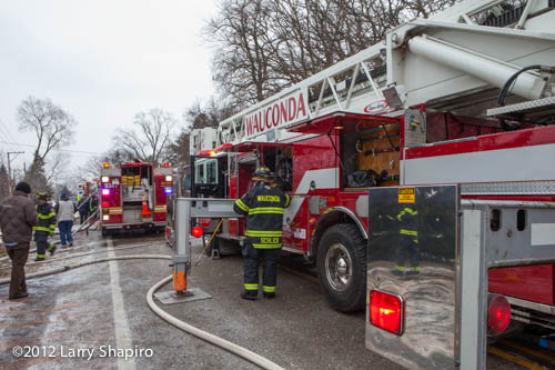 Wauconda Fire Department tower ladder