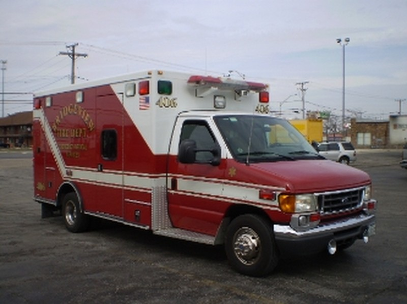 Bridgeview Fire Department Ambulance for sale