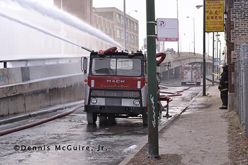 CFD Turret Wagon Deluge Wagon