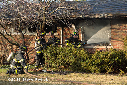 Lincolnwood house fire