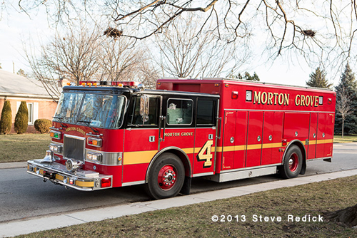 Morton Grove Fire Department Squad 4