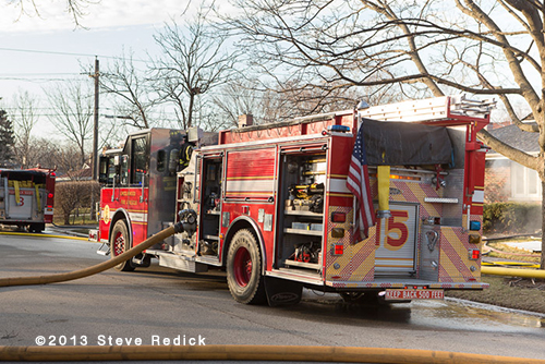 Lincolnwood fire engine