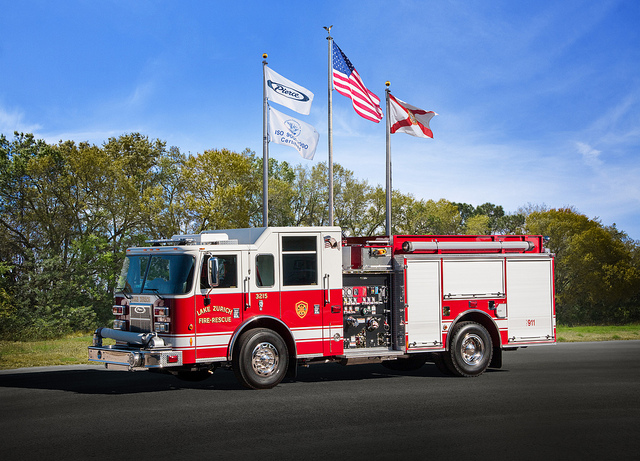 new engine for the Lake Zurich Fire Department