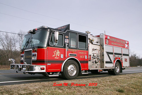 Algonquin-Lake in the Hills fire engine