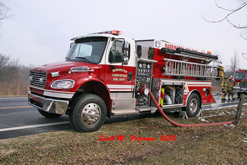 Barrington FD water tanker
