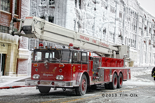 Chicago Fire Department Snorkel