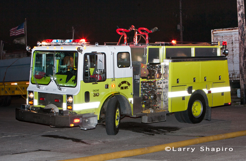 Elk Grove Township FPD Mack engine