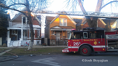 Chicago Fire Department at Still Alarm @ 4446 W Maypole