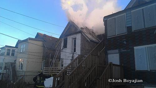 Chicago Fire Department at Still Alarm @ 4446 W Maypole