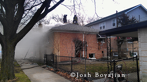 Chicago Fire Dept had a Still alarm house fire at 4600 s Keating