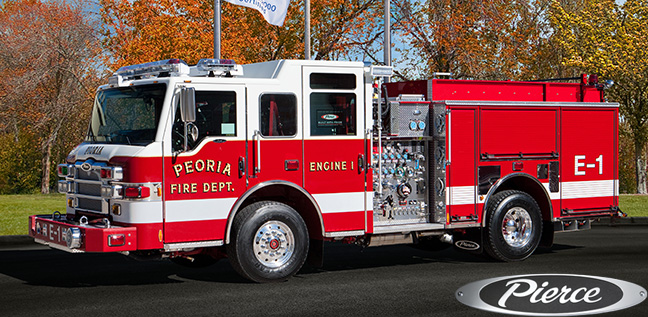 new Pierce Impel pumper for Joliet