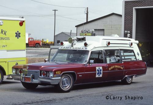 Schiller Park Fire Department Cadillac ambulance