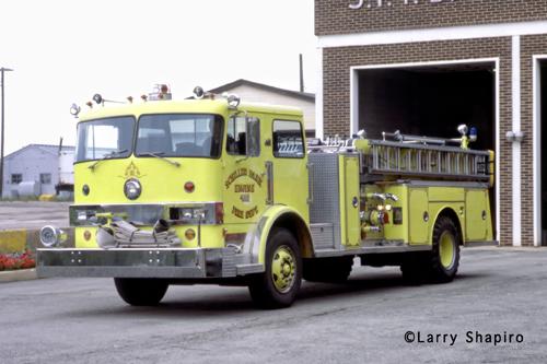 Schiller Park Hendrickson fire engine