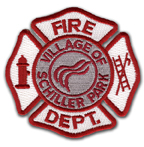 Schiller Park Fire Department patch