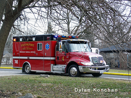Frankfort FPD ambulance