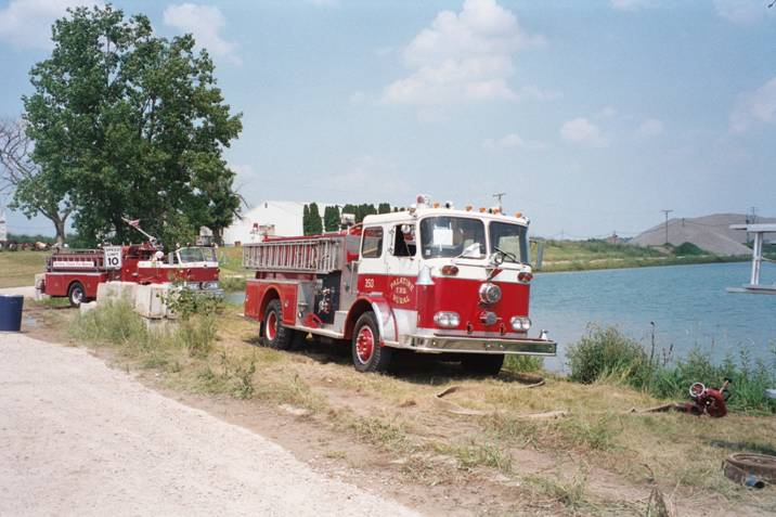Palatine Rural FPD Seagrave engine