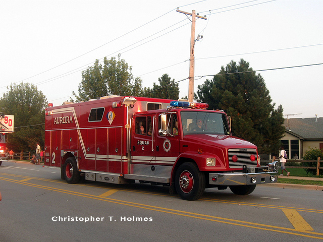 Aurora Fire Department apparatus photos