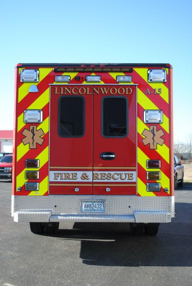 Lincolnwood FD ambulance