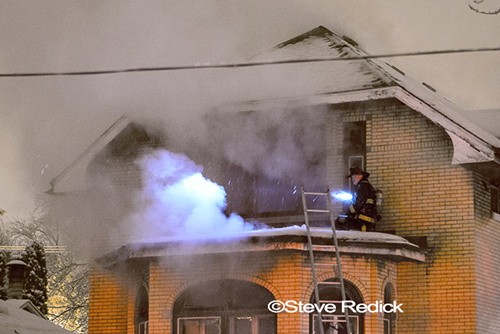 Chicago house fire